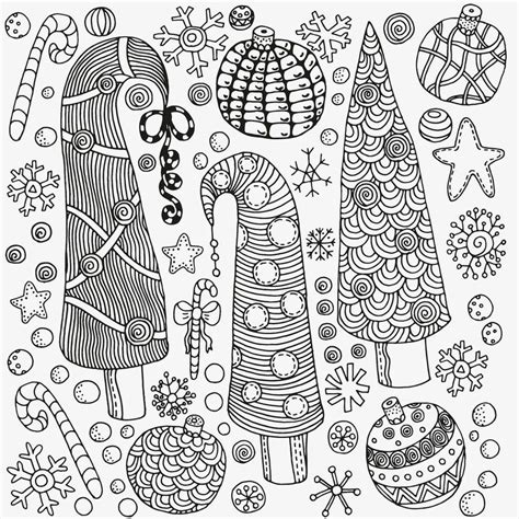 Christmas Trees Coloring Pages For Adults See the category