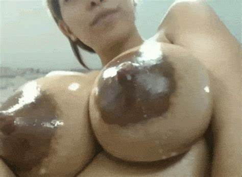 Fascinating Biggest Tit With Wet Nippl