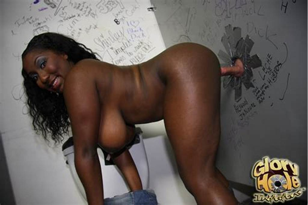 #Busty #Black #Girl #Getting #A #Sexy #Glory #Hole #Blowjob #And #Cum
