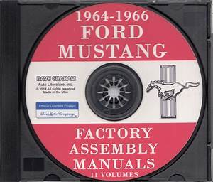 1964 Ford Repair Shop Manual And Parts Book Cd Falcon