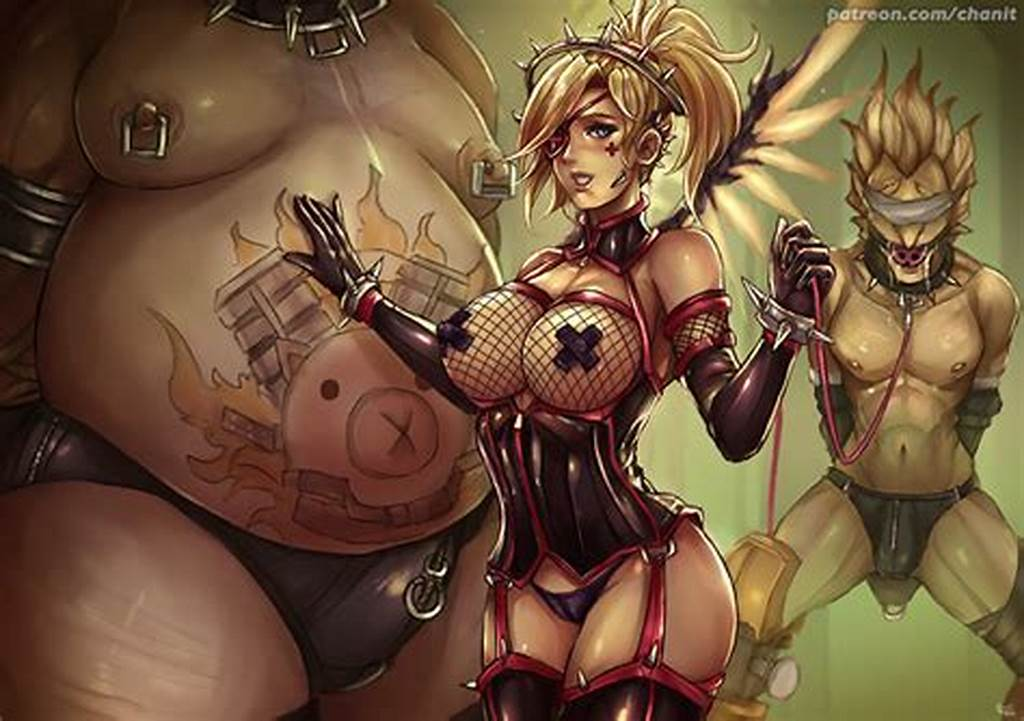 #Junkrat #Mercy #And #Roadhog