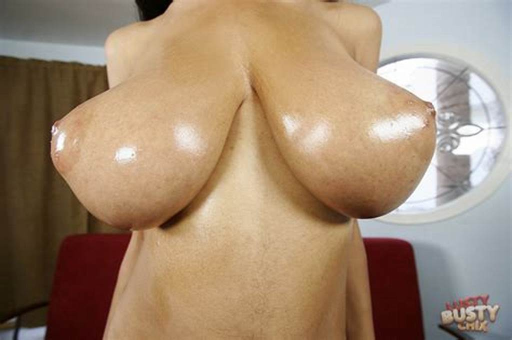 #Tyra #Moore #Showing #Off #Her #Huge #Oiled #Boobs