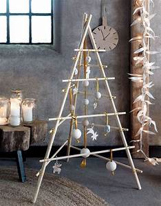 Comment Faire Un Tipi : un sapin de no l en bois fa on tipi diy comment faire ~ Dallasstarsshop.com Idées de Décoration