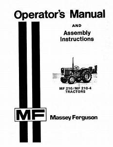 Massey Ferguson 210 And 210