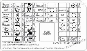 Fuse Box Diagram  U0026gt  Kia Soul Ev  2015