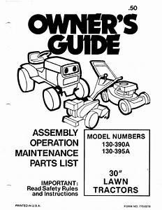 Mtd Lawn Mower 130