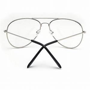 Lunette De Vue Aviateur : forepin lunettes de vue unisex monture metalique cadre ~ Melissatoandfro.com Idées de Décoration