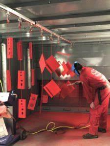 Metal Powder Coating Industrial Powder Coating Red Box