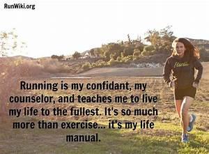 Running Matters  97  Running Is My Confidant  My