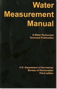 Water Measurement Manual  A Guide To Effective Water