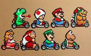 Bügelperlen Super Mario : super mario kart perler hama bead sprites racing snes ~ Eleganceandgraceweddings.com Haus und Dekorationen