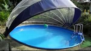 Pool Dach Rund : schwimmbad schwimmbecken berdachung f r rundpool ~ Watch28wear.com Haus und Dekorationen