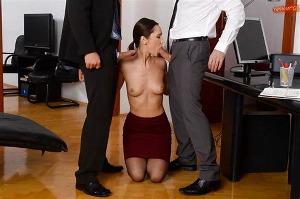 #European #Brunette #Angie #Moon #Deepthroats #Cock #In #Office