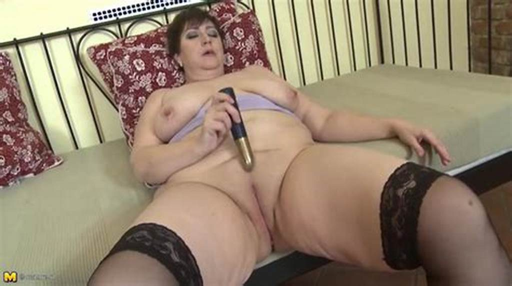 #Fat #Old #Lady #Slips #A #Toy #Into #Her #Wet #Cunt