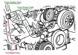 2003 Trailblazer Heater Hose Diagram
