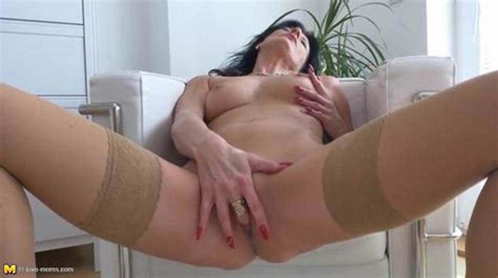 #Classy #Masturbating #Milf #With #A #Hand #Down #Her #Panties