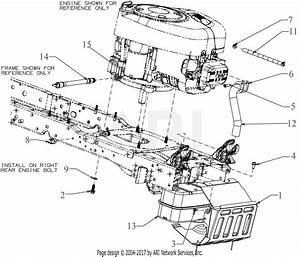 Troy Bilt 13ala1ks066 Tb1942  2016  Parts Diagram For