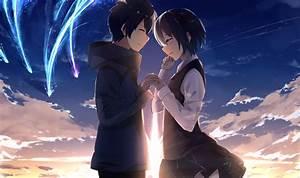 Video X Couple : wallpaper kimi no na wa your name mitsuha x taki couple romance scenic clouds ~ Medecine-chirurgie-esthetiques.com Avis de Voitures