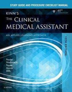 Study Guide And Procedure Checklist Manual For Kinn U0026 39 S The