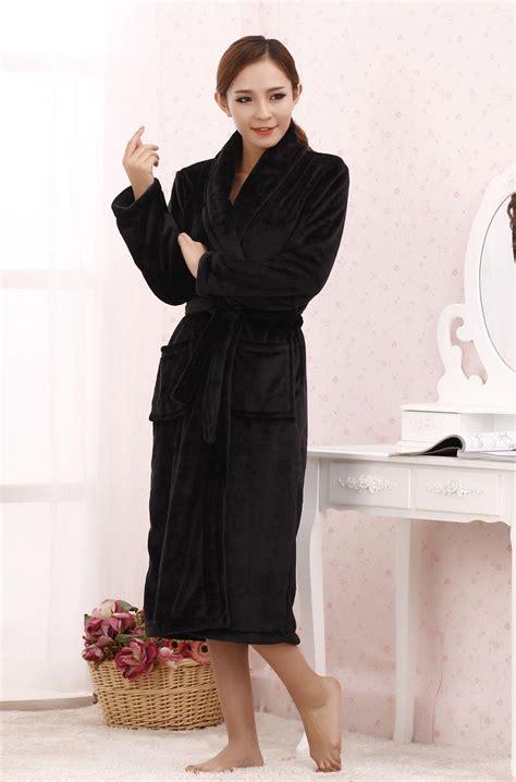 femme de chambre chaude robe chambre polaire femme