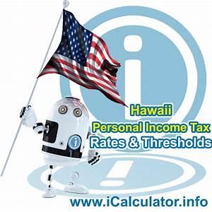 Salary Calculator Florida Hourly Hawaii State Tax Tables 2019 Tax Rates Brackets Tax