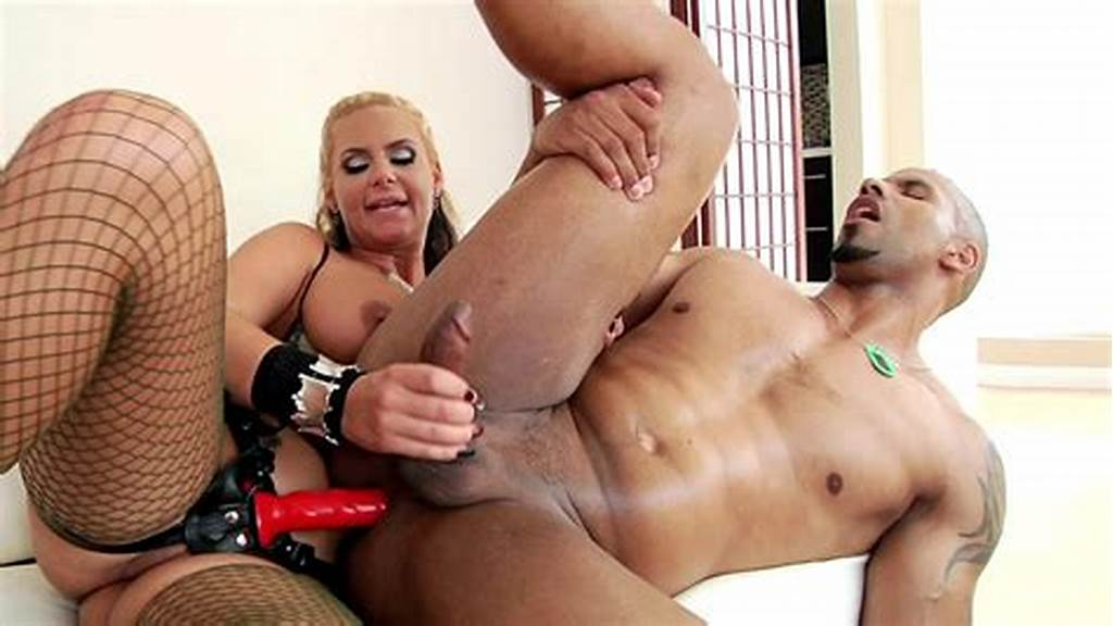 #Phoenix #Marie #Fucks #Her #Black #Lover #With #The #Strap