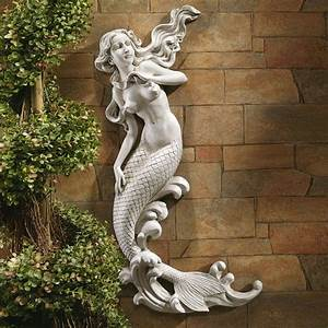 design toscano eu6424 the mermaid of langelinie cove wall With mermaid wall art