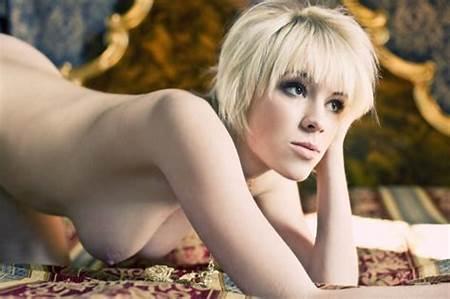 Teens Nude Short Blond