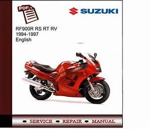 Suzuki Rf900r Rs Rt Rv 94-97 Service Manual