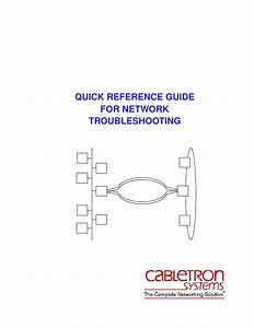 Quick Reference Guide For Network Troubleshooting