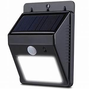 Lampe Solaire Terrasse : lampe solaire exterieur les bons plans de micromonde ~ Edinachiropracticcenter.com Idées de Décoration