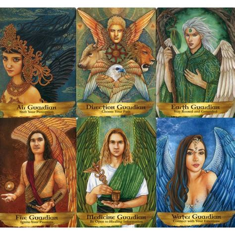 The cards depict a wide range of real and fantasy this one is devoted to the archangels and guardian angels, and has 44 cards with angelic images and oracular messages on each card. 🎲Оракул Ангелов и Предков — Angels and Ancestors Oracle Cards. Hay House - низкая цена, доставка ...