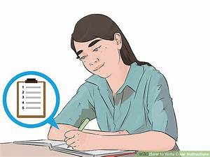 How To Write Clear Instructions  5 Steps  With Pictures