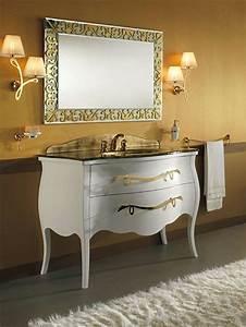 Meuble Salle De Bain Retro : salle de bain r tro 50 id es d co int ressantes et originales ~ Teatrodelosmanantiales.com Idées de Décoration