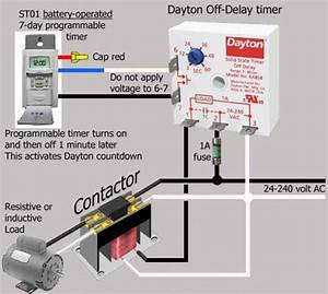 Time Delay Switch Wiring Diagram  Mit Bildern