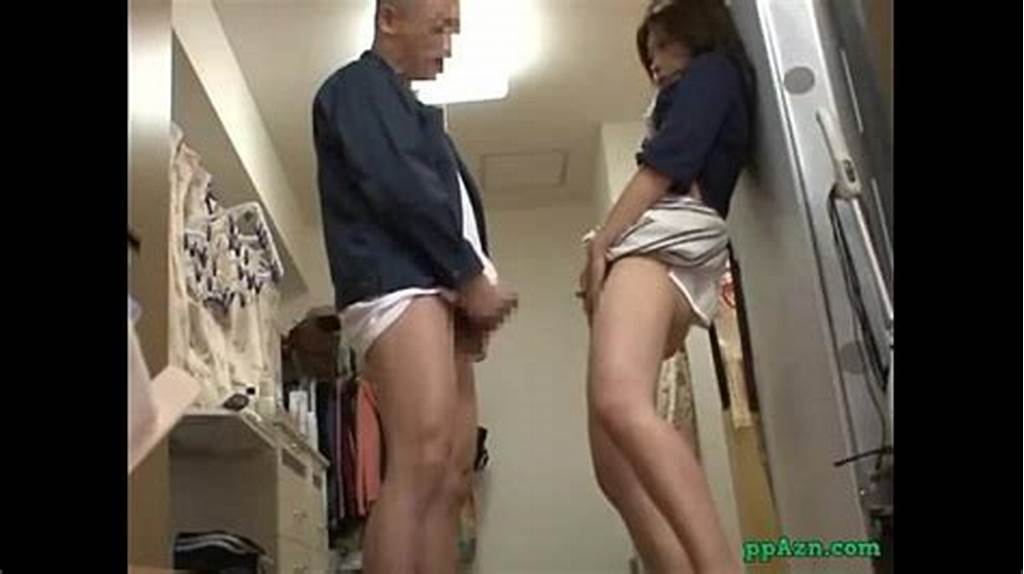 #Asian #Girl #Giving #Blowjob #Fucked #While #Standing #By #The