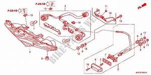Taillight  Vfr1200fc  Fd  Fdc  Fdd  For Honda Vfr 1200 2012