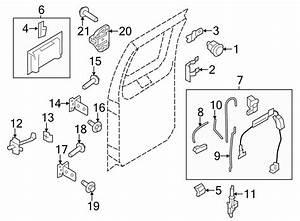 Ford E-250 Door Lock Actuator Motor  Doesn