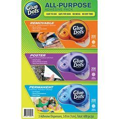 37 Best Glue Dots - Adhesive Products images | Glue dots ...