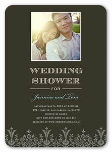 vision of love 5x7 bridal shower invitations shutterfly With wedding invitation by shutterfly