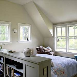 Lighting Ideas For Loft Ceilings Bed In Middle Of Room Looking Out Window Dresser Or