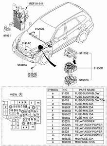9522429850 - Hyundai Relay Assembly