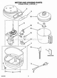 Kitchenaid Kfc3100cr2 Parts List And Diagram