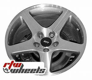"Ford Mustang wheels 2003-2004. 17"" Machined rims 3476"