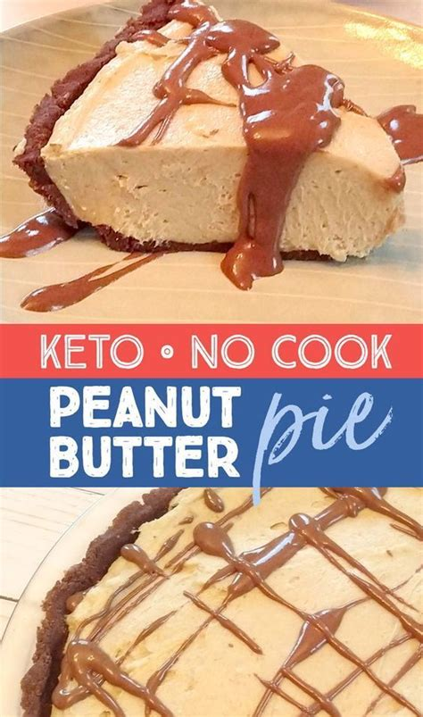 This peanut butter pie recipe is the best chocolate peanut butter pie ever. Keto Chocolate Peanut Butter Pie | Recipe | Keto dessert easy, No cook desserts, Peanut butter ...