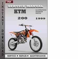 Ktm 200 1999 Factory Service Repair Manual Download