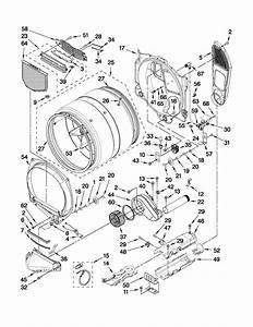 Sears Canada 110c86742701 Dryer Parts