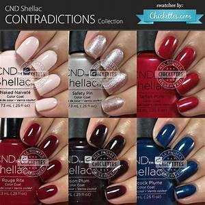 Cnd Vinylux Color Chart 2015 Cnd Shellac Contradictions Collection Swatches