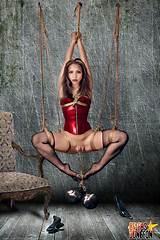 Adult bondage with jassa alba