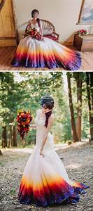 Dip dye wedding dress trend will make your big day more for How to dip dye a wedding dress